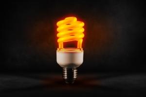 Image of energy saving bulb