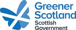 Image of greener scotland Scottish government logo