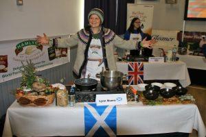 Image of Lynn at the World Porridge Championships