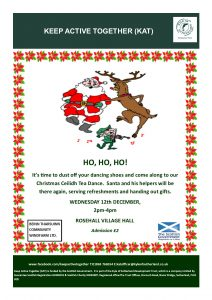 image of Christmas Ceilidh flyer